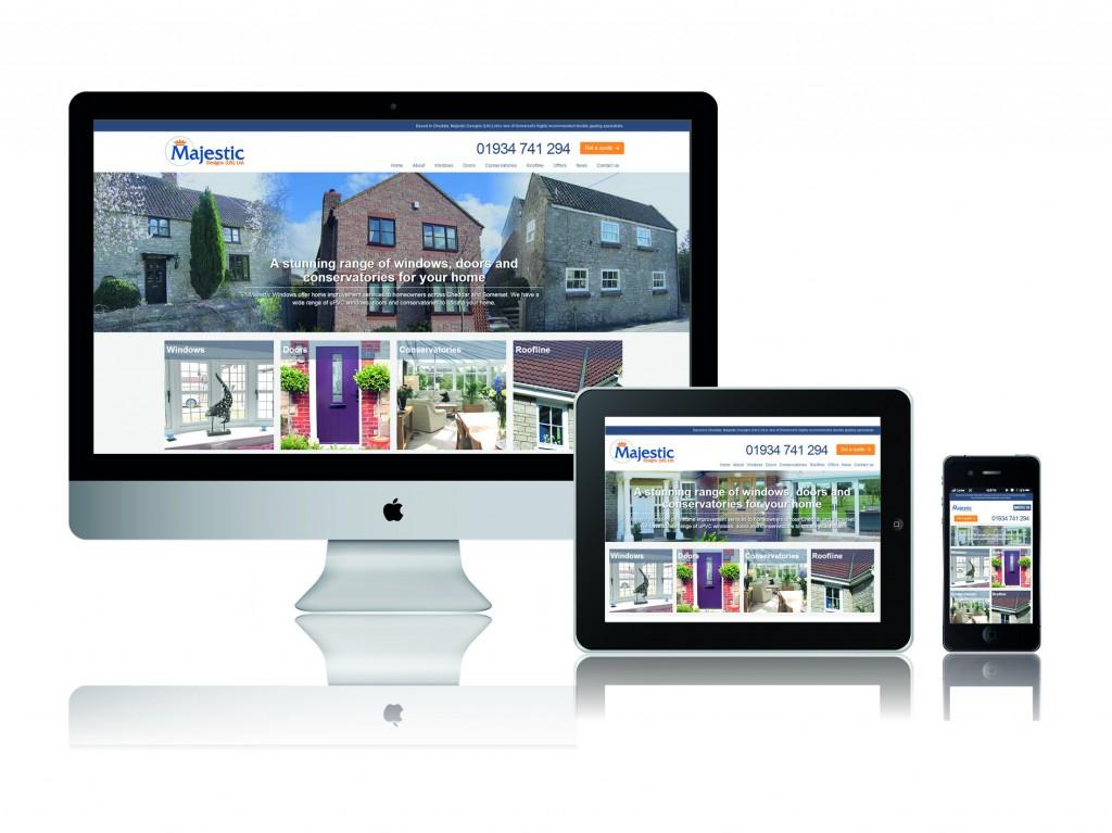 Majestic Designs Website