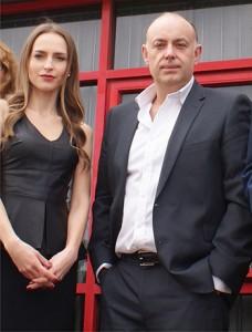 Valentina Warren and Purplex MD Andrew Scott