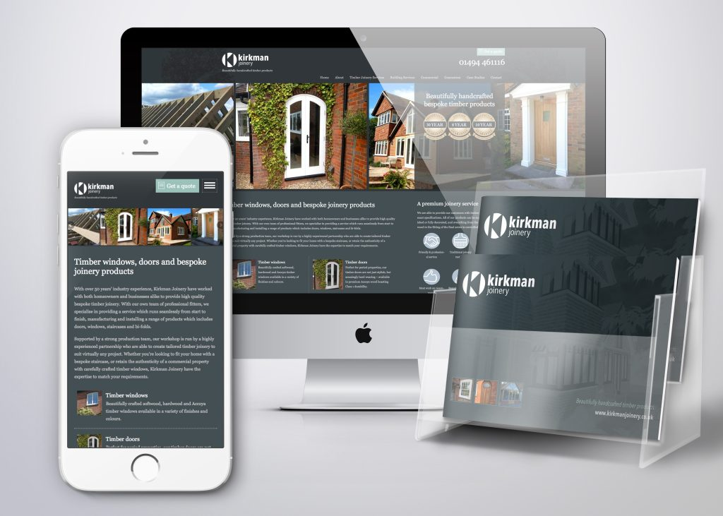 PR010 - Kirkman new website and brochure