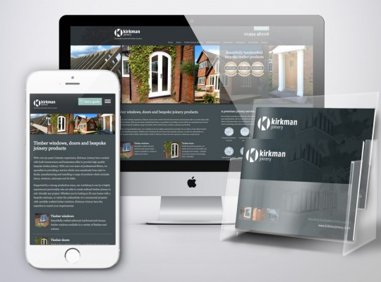 Kirkman new website and brochure