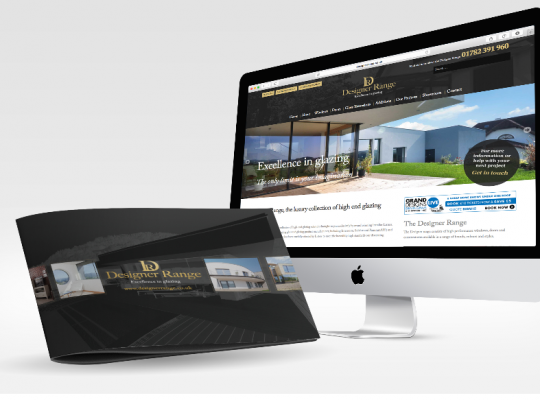 Listers Design Range Website and Brochure