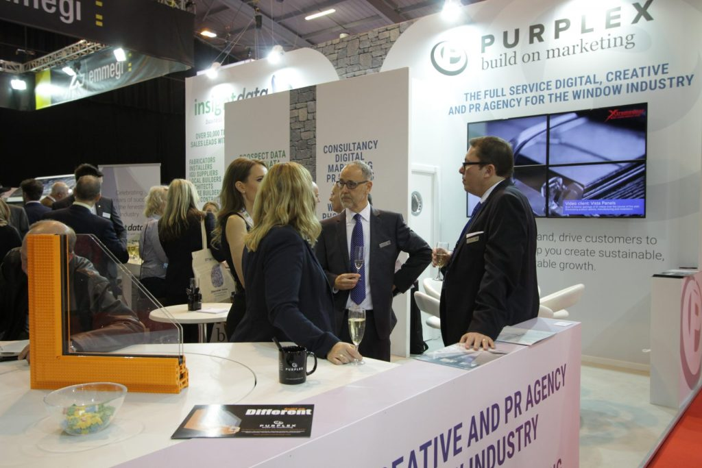 The Purplex stand at the FIT show 2016