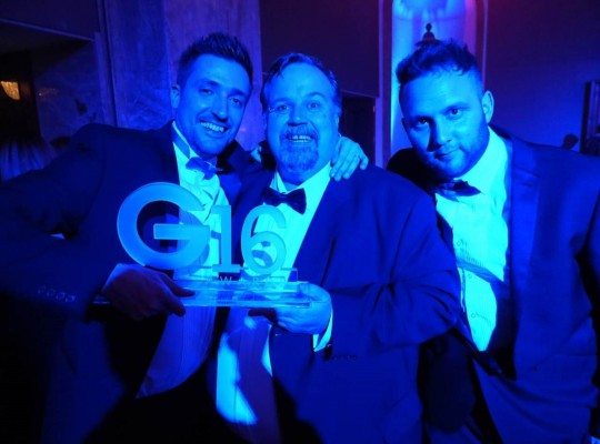 G Awards 2016 - Sam, Oli and Mike from Roseview
