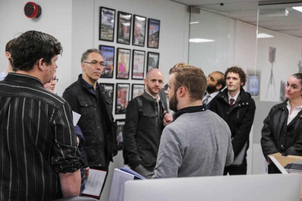 Purplex recruitment day tour