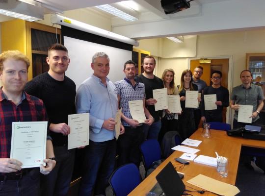 Team Photo - Google Analytics Training