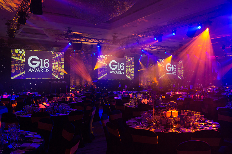 The Glass Industry Awards, 2016 - G16 - London, Hilton Hotel.